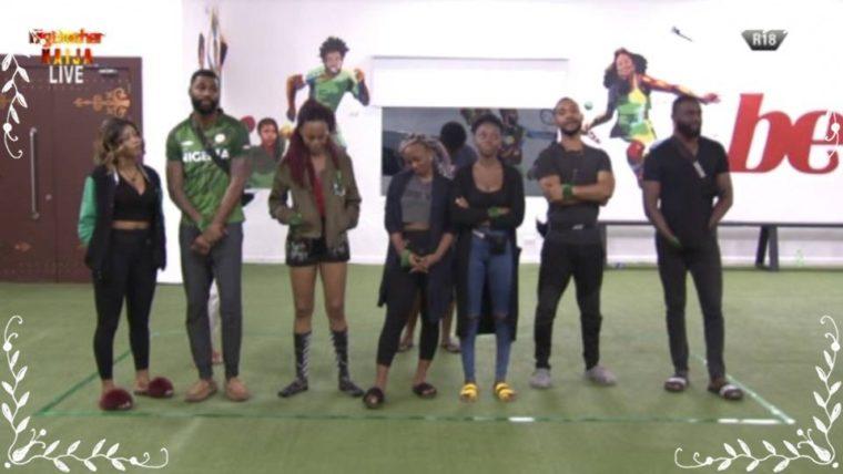 #BBNaija : Big Brother Splits Housemates Into Two Groups