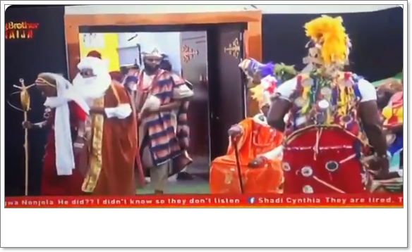 #BBNaija: Housemates looks Stunning At Coronation Reception (Video)
