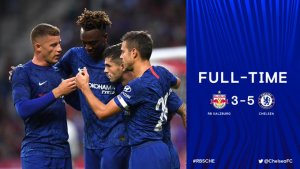 Salzburg vs Chelsea 3-5 - Highlights