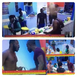 #BBNaija : Omashola, Esther & Frodd Fight Over Egg (Video)