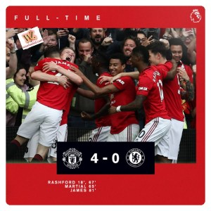 Man Utd vs Chelsea 4-0 Highlights