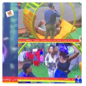 #BBNaija: Mercy Blasts Ike Badly As Both Got Into A Fight (Video)