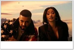 French Montana ft. Post Malone, Cardi B, Rvssian - Writing On The Wall