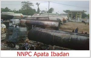 Fire Guts NNPC Depot In Ibadan (Video)