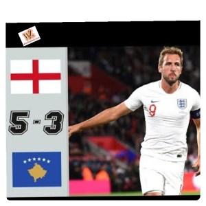 England vs Kosovo 5-3 - Highlights