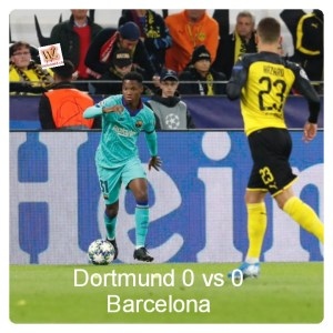 Dortmund vs Barcelona 0-0 - Highlights
