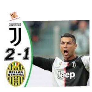 Juventus vs Verona 2-1 - Highlights