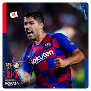 Barcelona vs Inter Milan 2-1 Highlights