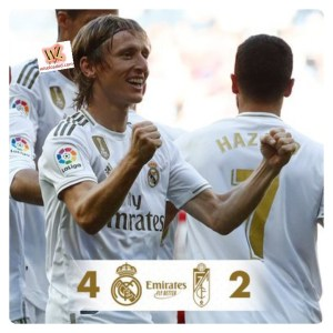 Real Madrid vs Granada 4-2 - Highlights