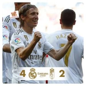 Real Madrid vs Granada 4-2 - Highlights