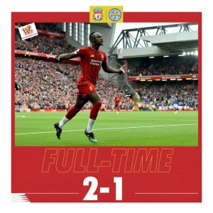 Liverpool vs Leicester 2-1 Highlights