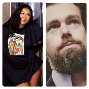 Tacha Drags Online For Faking A Video Call With Twitter CEO
