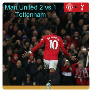 Manchester United vs Tottenham 2-1 - Highlights