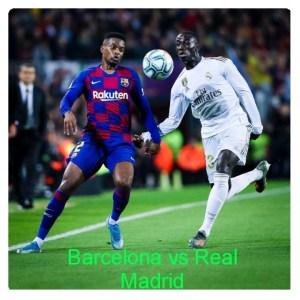 Barcelona vs Real Madrid 0-0 Highlights