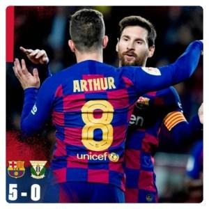 Download Football Video : Barcelona vs Leganes 5-0 Highlights