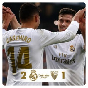 Real Madrid vs Sevilla 2-1 Highlights