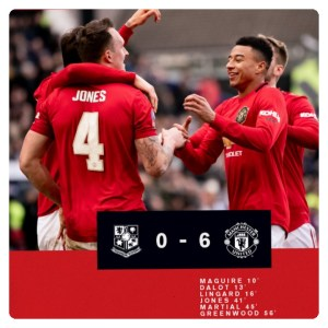 Tranmere vs Manchester United 0-6 Highlights Football Video