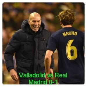 Valladolid vs Real Madrid 0-1 Highlights Football Video