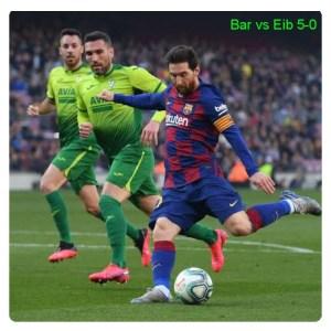 Barcelona vs Eibar 5-0 - Highlights