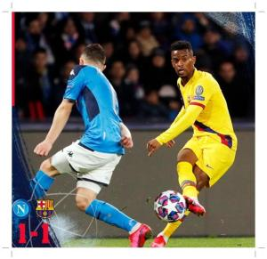 Napoli vs Barcelona 1-1 - Highlights