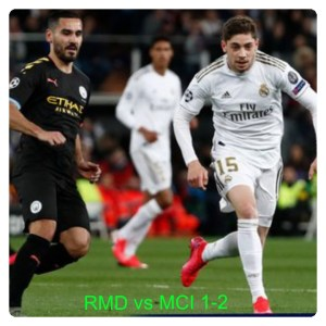 Real Madrid vs Manchester City 1-2 Highlights (Download Video)