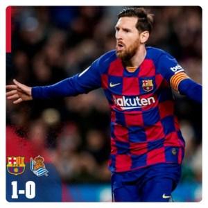 Barcelona vs Real Sociedad 1-0 Highlights (Download Video)
