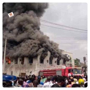 Video: Fire Outbreaks At Dugbe Market In Ibadan