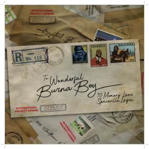 A song by African Giant, Burna Boy titled Wonderful