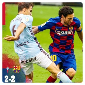 Celta Vigo vs Barcelona highlight