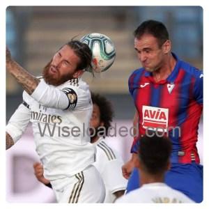 Real Madrid vs Eibar 3v1 Highlights