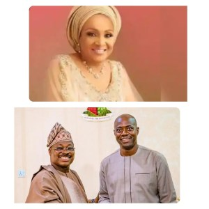 I don't Want Anybody To Tarnish My Husband Image - Ajimobi's Wife, Florence