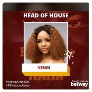 Nengi emerged as first Big Brother Naija 2020 Lockdown edition