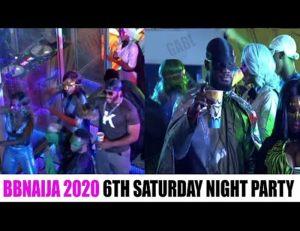 Bbnaija Wk 6 Party, DJ Switch On Fire, Erica & Dorathy Clash