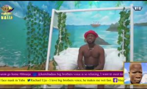 Brother Shaggi In Big Brother Naija House