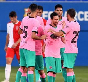 Barcelona vs Girona 3-1 Highlights