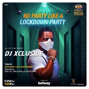 Bbnaija Wk 8 Party, DJ Xclusive Rocks, Laycon And Nengi On Fire (Video)