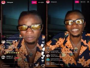 Check Out Laycon First Instagram Live With Yinka Ayefele