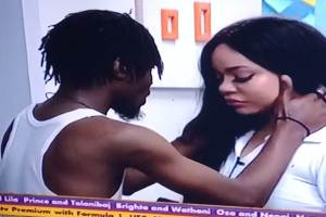 BBNaija: See Why Nengi Cry After Saturday Night Finale White Party