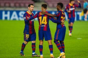 Barcelona vs Ferencvaros 5-1 Highlights