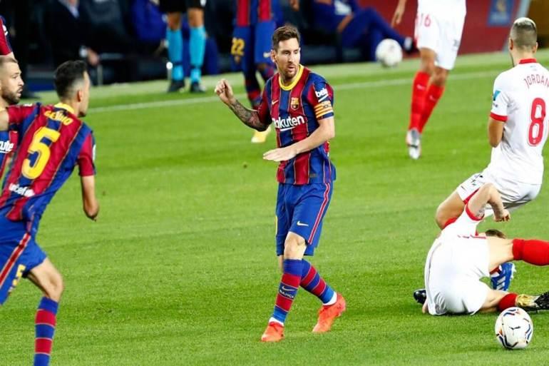 Barcelona vs Sevilla 1-1 Highlights
