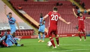 Liverpool vs West Ham 2-1 Highlights