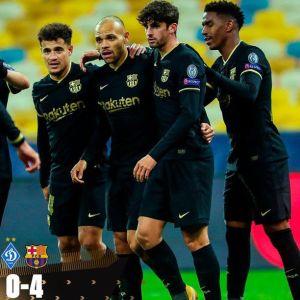 Dynamo Kiev vs Barcelona 0-4 Highlights