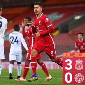 Liverpool vs Leicester 3-0 Highlights (Download Video)