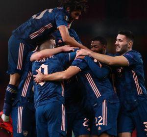 Arsenal vs Rapid Vienna 4-1 Highlights