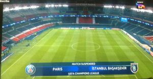 UCL: PSG vs Istanbul's Match Suspends Over Racism