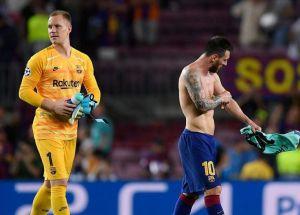 Barcelona Dressing Room Boils As Messi, Ter Stegen Fight