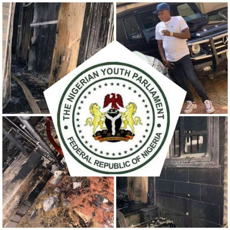 Nigerian Youth Parliament Condemns The Burning Of Igboho House & Insecurity In Oyo State (Video)