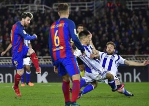 Real Sociedad vs Barcelona 1-1 (Pen 2-3) Highlights (Download Video)