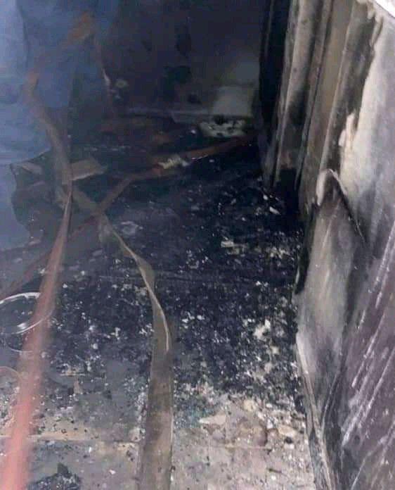 Sunday Igboho house burnt