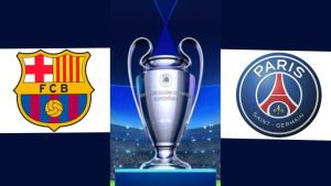 Barcelona vs PSG Live : Champions League Results Today